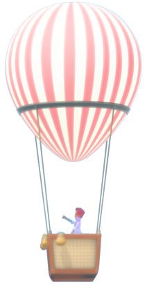 hot air ballon variety